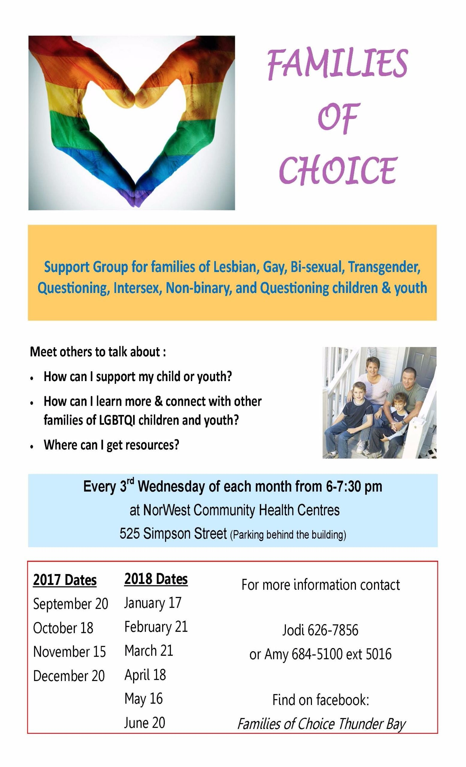 Thunder bay bisexual support groups